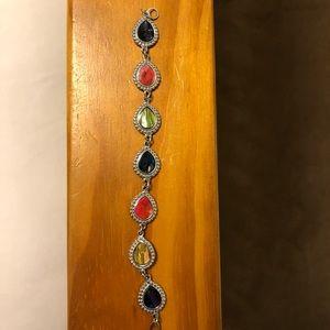 Colorful Silver bracelet